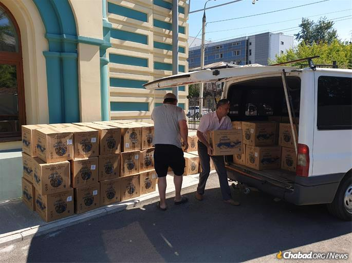Aid to victims is underway.