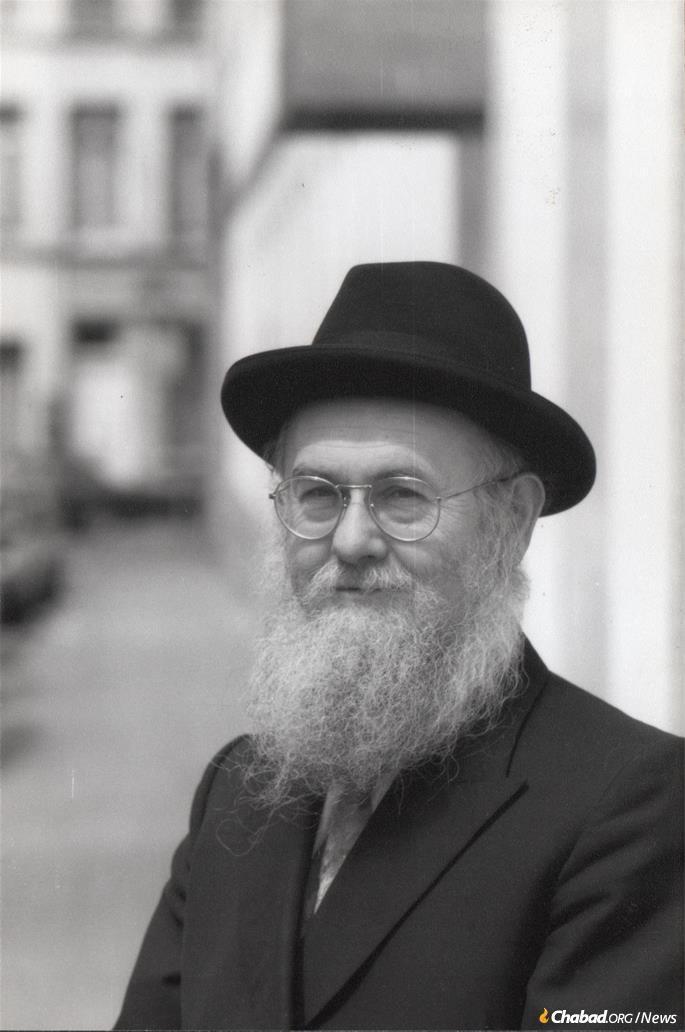 Rabbi Azriel Chaikin today.
