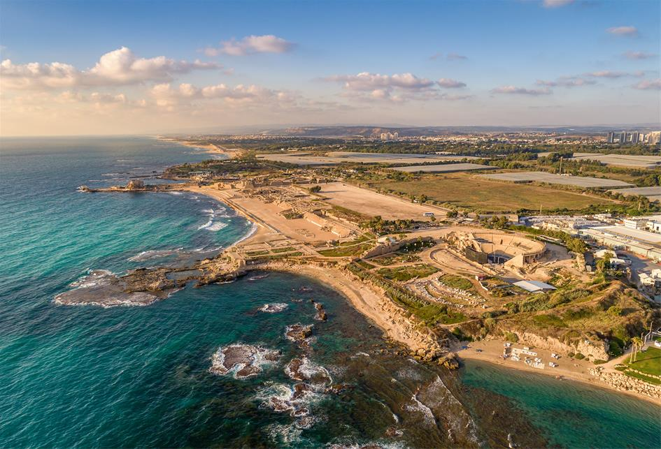 Caesarea's ancient glory is still in evidence: Its theater and hippodrome (oval racing track) are perhaps only outdone by Herod's Palace — including a freshwater pool — surrounded on three sides by the Mediterranean.