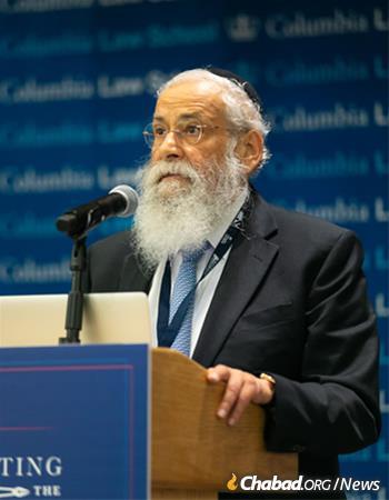 Rabbi Sholom Ber Lipskar, founder and director of the Aleph Institute