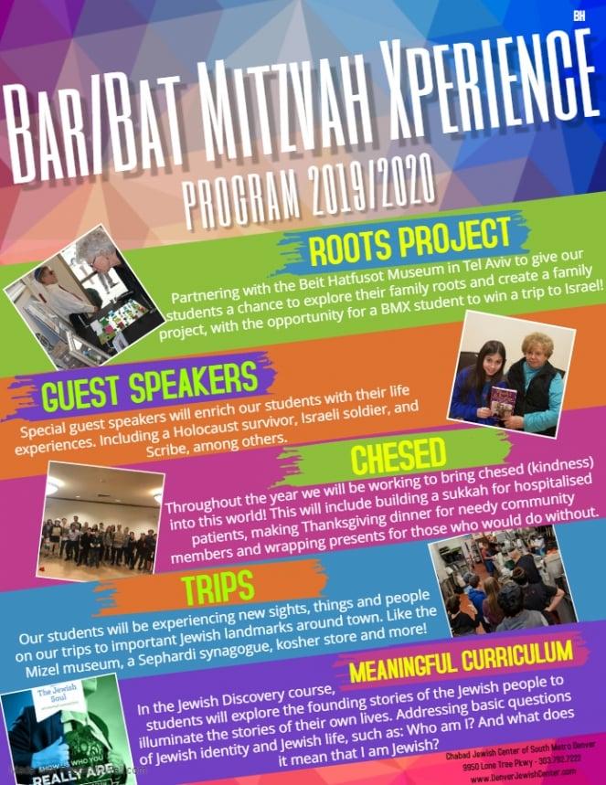 Bar/Bat Mitzvah eXperience - Chabad Jewish Center of South