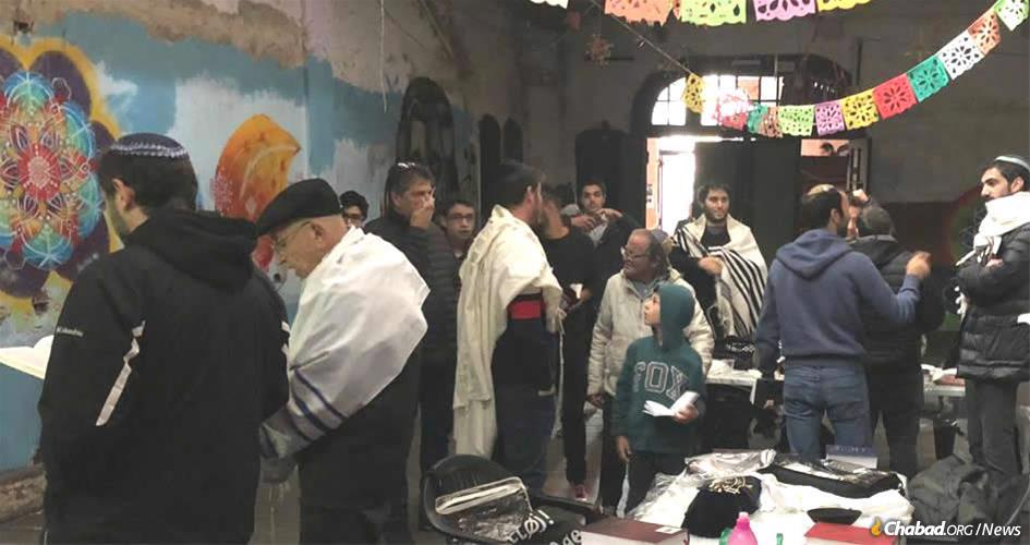 Praying for the first time in decades in one of Argentina's oldest synagogues.