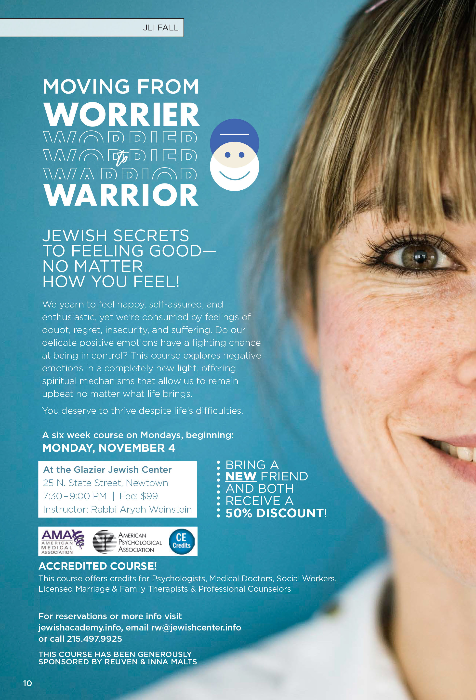 Moving from Worrier to Warrier
