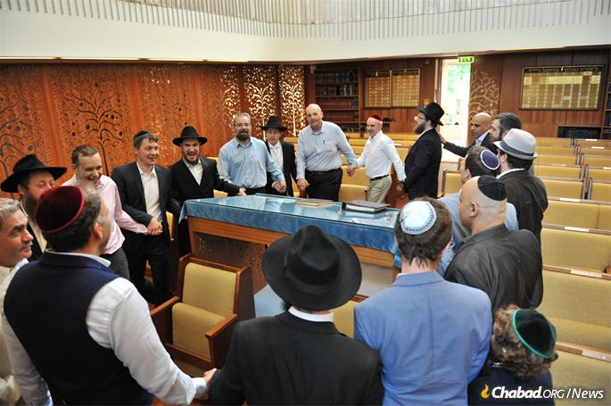 Middle-aged men and women who lived their formative years under the Soviets are observing more and more, lighting Shabbat candles, putting on tefillin, attending synagogue and keeping kosher.