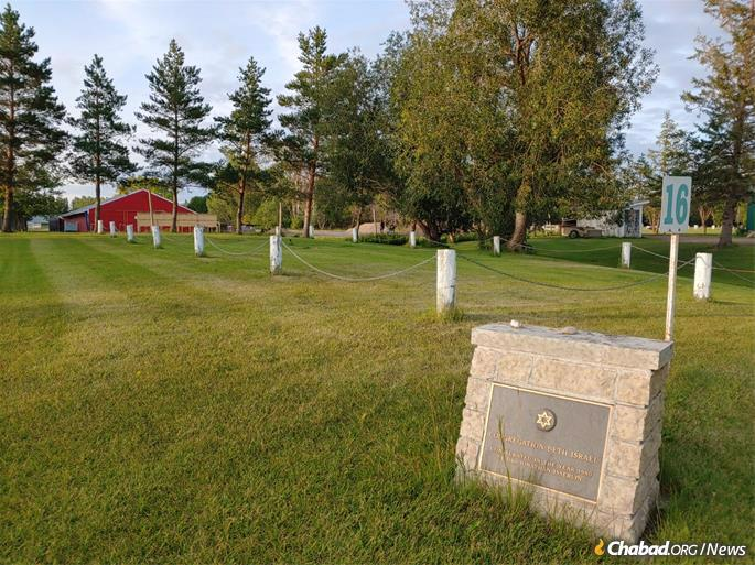 The cemetery in North Battleford has a Jewish section where a 104-year-old woman was recently buried. But there is no longer a Jewish burial society in town.