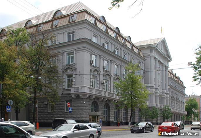 SBU, formerly KGB, Headquarters in Kiev (Photo: Wikimedia Commons)