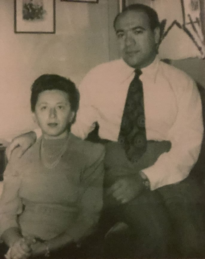 The author's grandparents, Ida and William Sterling.