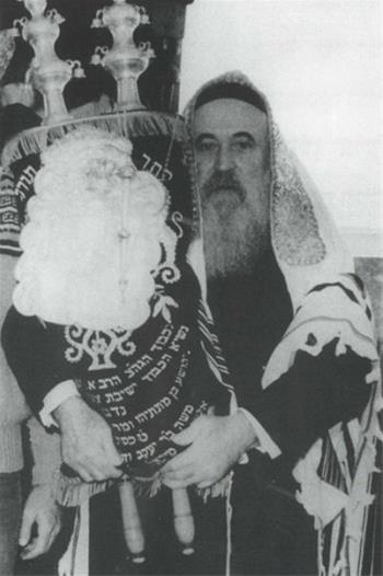 Rabbi Avraham Simcha Kaplan (1911-1989) was the rabbi of Safed for more nearly half a century.