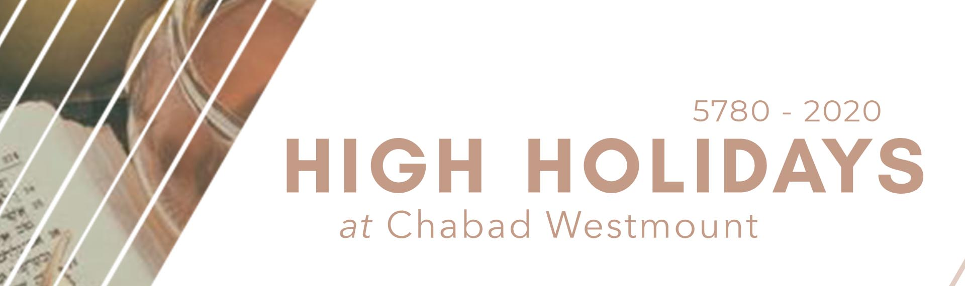High Holidays | Chabad Westmount