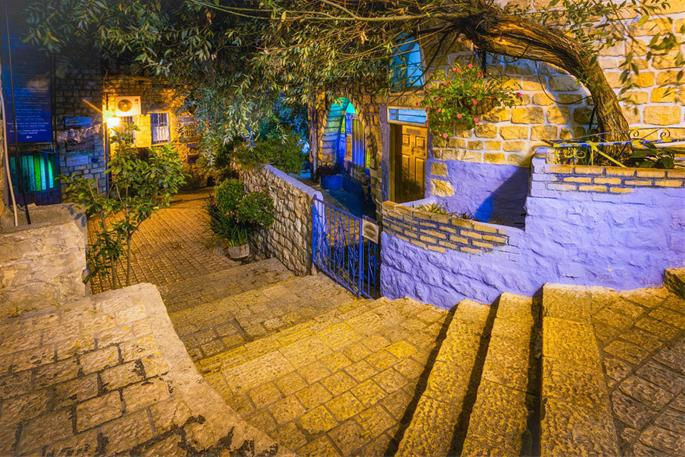 A city of staircases, art galleries, synagogues, and stories, Tzfat's mystical night air is simply supernatural.