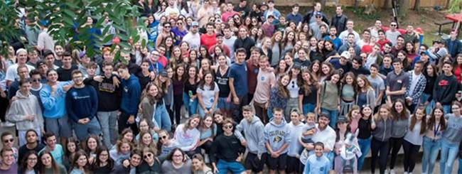 September 2019: Jewish College Students Bond at Hundreds of 'Welcome Back' Dinners and Barbecues
