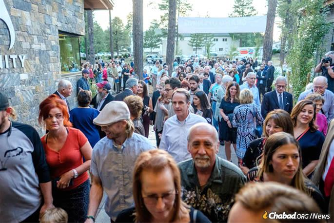 There was music, food and great celebration at last week's standing-room only event, which drew guests from around the community and beyond.