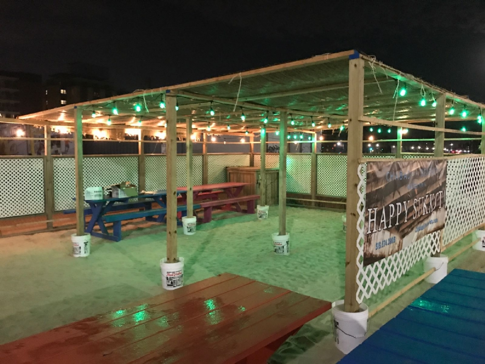 Sukkah at the Beach