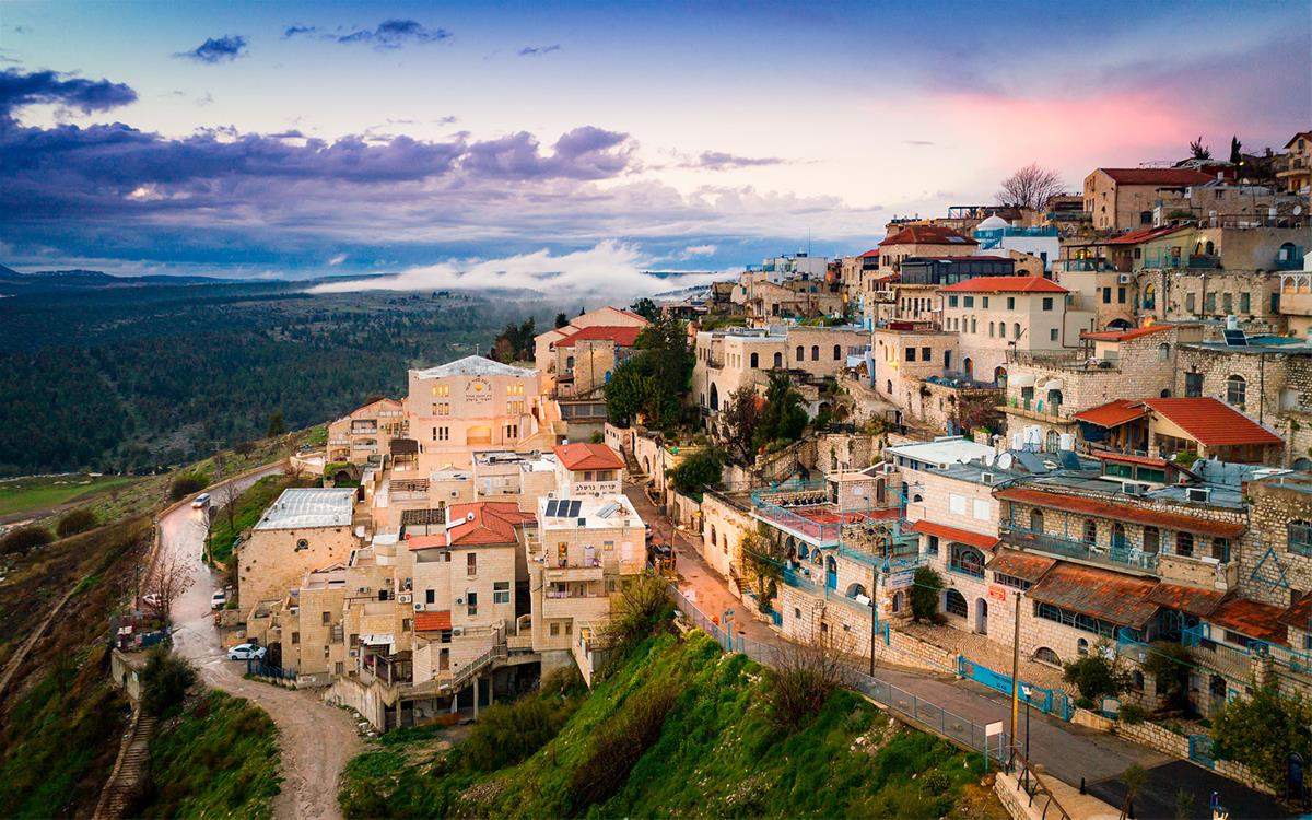 Sleeping Spring Compound In The Old City Of Safed Tzfat