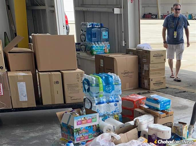 The only Jewish organizational presence on the island, the Blumings have rallied their community and folks in Florida to assist with the relief efforts. Seven Chabad centers in South Florida have begun collecting valuable supplies, including food, water, other staples, tarps and generators.