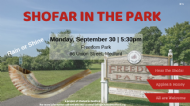 Shofar in the Park - September 30