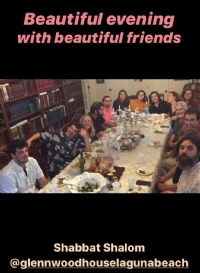 Glenwood Shabbat at Rabbi & Perel's place 2019