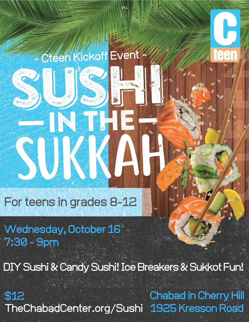 Cteen Sushi in the Sukkah.png