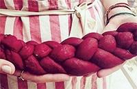 Pink Challah Bake