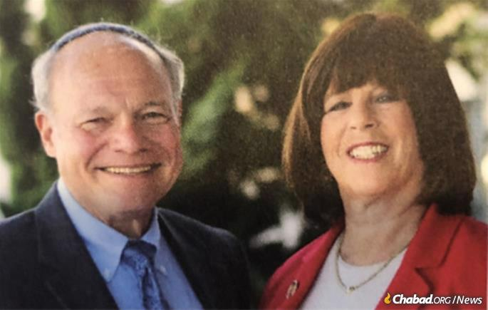 Ronald and Barbara Zukin of New Jersey encourage people to leave legacy gifts to Chabad at the Shore by personalizing the impact of Chabad on the giver.