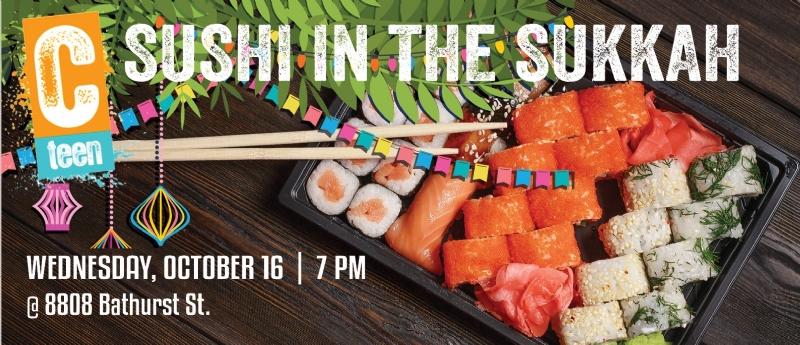 cteen sushi in the sukkah.jpg