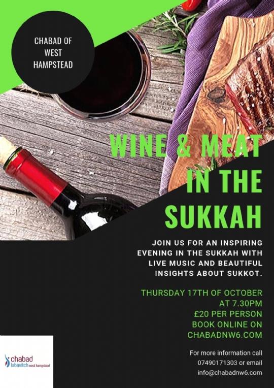 Wine & Meat in Sukkah.jpeg