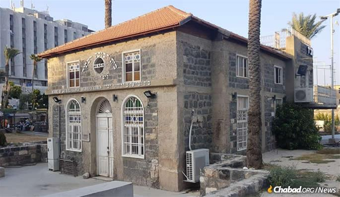 "Their base is in what is known as the ""Old Synagogue,"" a 180-year-old institutional relic situated in Tiberias's heavily visited Old City district, astride the storied Kinneret (Sea of Galilee)."