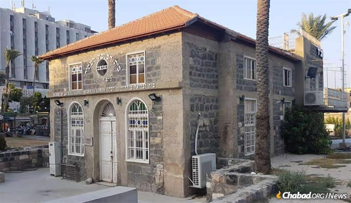 """Their base is in what is known as the """"Old Synagogue,"""" a 180-year-old institutional relic situated in Tiberias's heavily visited Old City district, astride the storied Kinneret (Sea of Galilee)."""