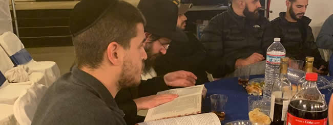 October 2019: Talmud Completion in a San Francisco Area Sukkah Helps Transform Grief to Joy