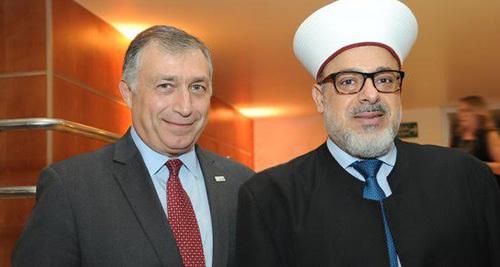 Fernando Lottenberg e Sheik Houssam El Boustani