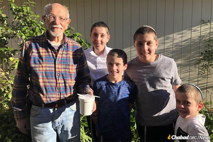 Older and homebound residents are focus of the family's efforts.