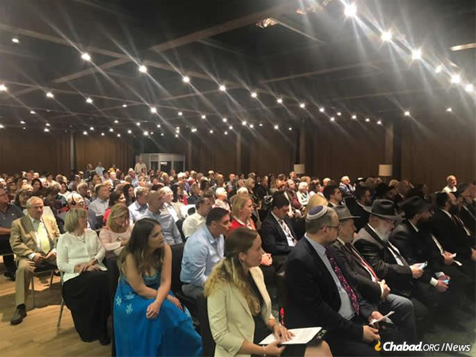 More than 500 Jewish lay and religious leaders attended the conference and investiture.