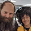Stranded by California Wildfires, Rabbi, Yeshivah Boys, Learn Torah and Offer Tefillin