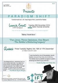JLI: Paradigm Shift