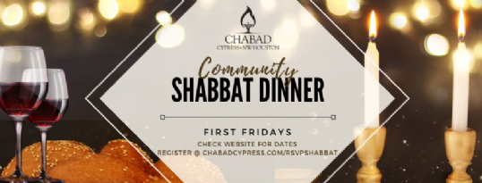 Community Shabbat Dinner First fridays.png