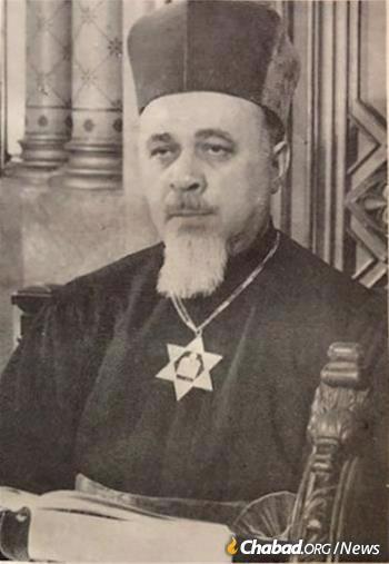 Former Chief Rabbi Moses Rosen (Photo: Wikimedia)
