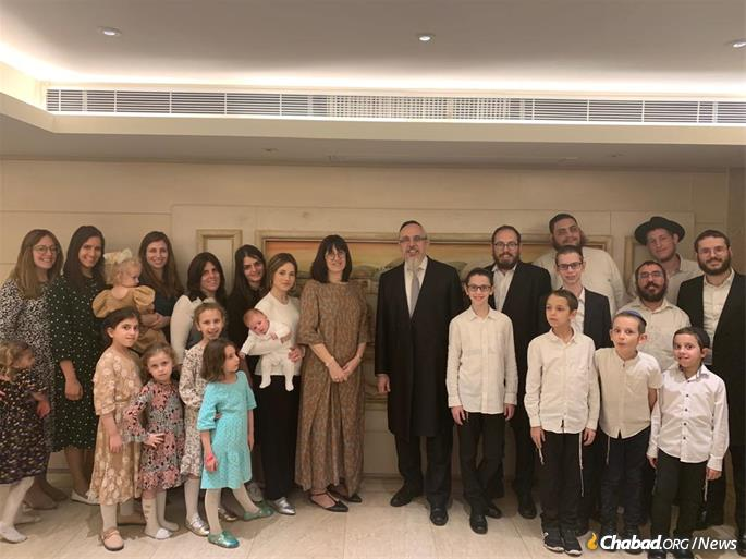 The Avtzons, the Liebermans and the Birnhacks: Chabad of Hong Kong's growing family of Chabad-Lubavitch emissaries.