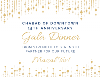 Gala Dinner 15th Anniversary