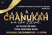 Chanukah on the Blvd.