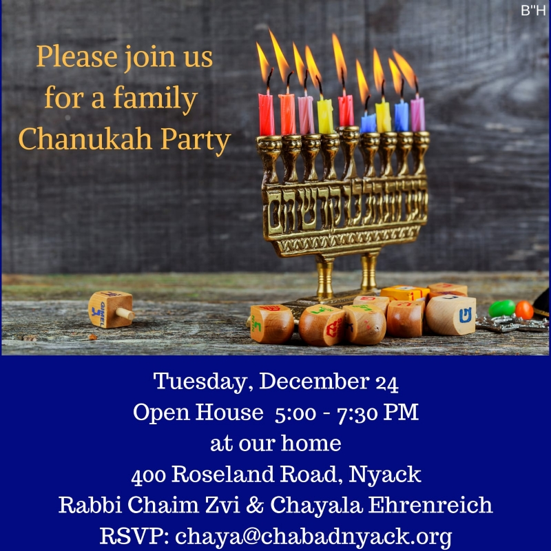 Nyack Menorah Lighting