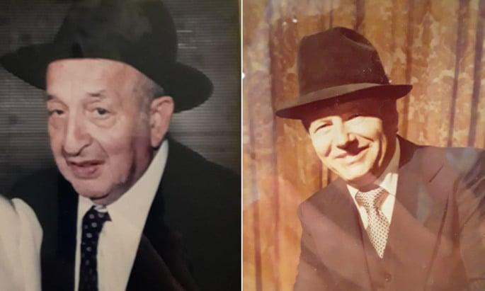 R. Shmuel Avrohom Abba Pollack and R. Menashe Bernath.