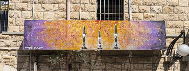 November 2019: Art Spreads Light to the Streets of Jerusalem