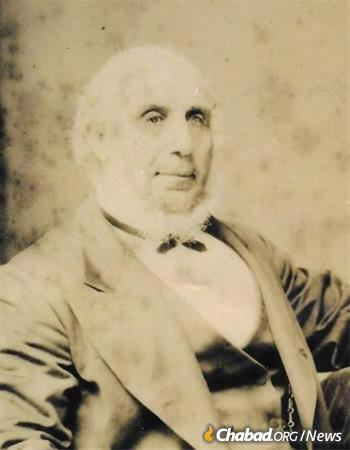 Solomon Levy helped found New Zealand's first synagogue.
