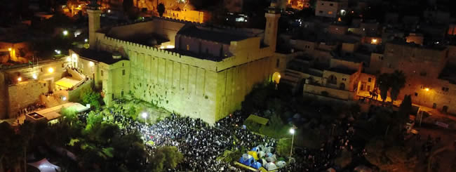 Shabbat Meals for 6,000 in Ancient City of Hebron