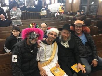Purim in Russia