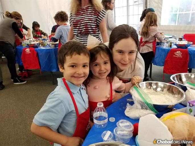 """The flagship program of Aaron's Culinary Experiences is """"Mini Chefs,"""" designed for preschoolers."""