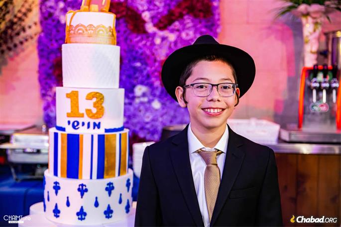 In many ways, Moshe has led the life of a typical youngster within the Chabad movement in Israel.