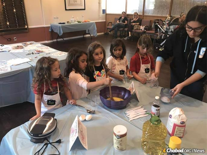 For many children, food is a first encounter with their Jewish heritage.