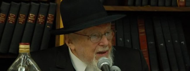 Untitled: Rabbi Mordechai Altein, 100, a Leading Chabad Rabbi in North America