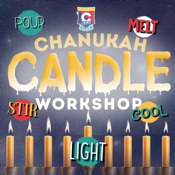 Chanukah Candle Workshop